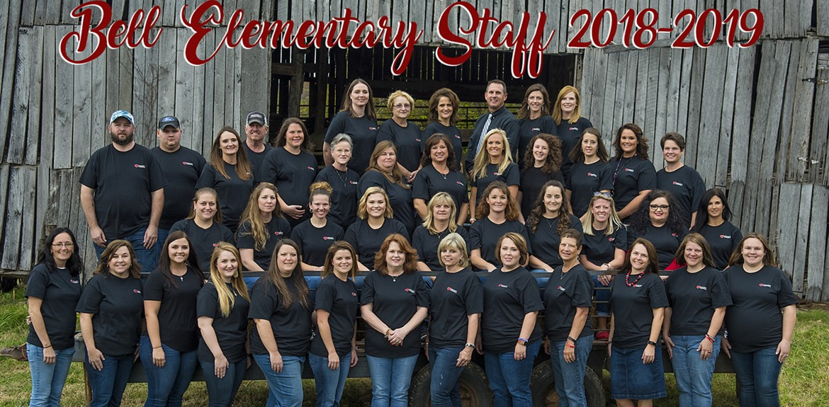 The Bell Elementary 2018-2019 Staff