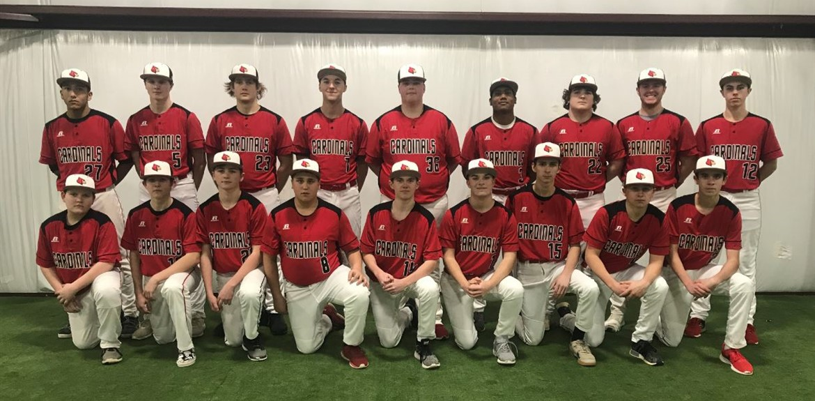 2019 Bat Cards Boys Baseball Team