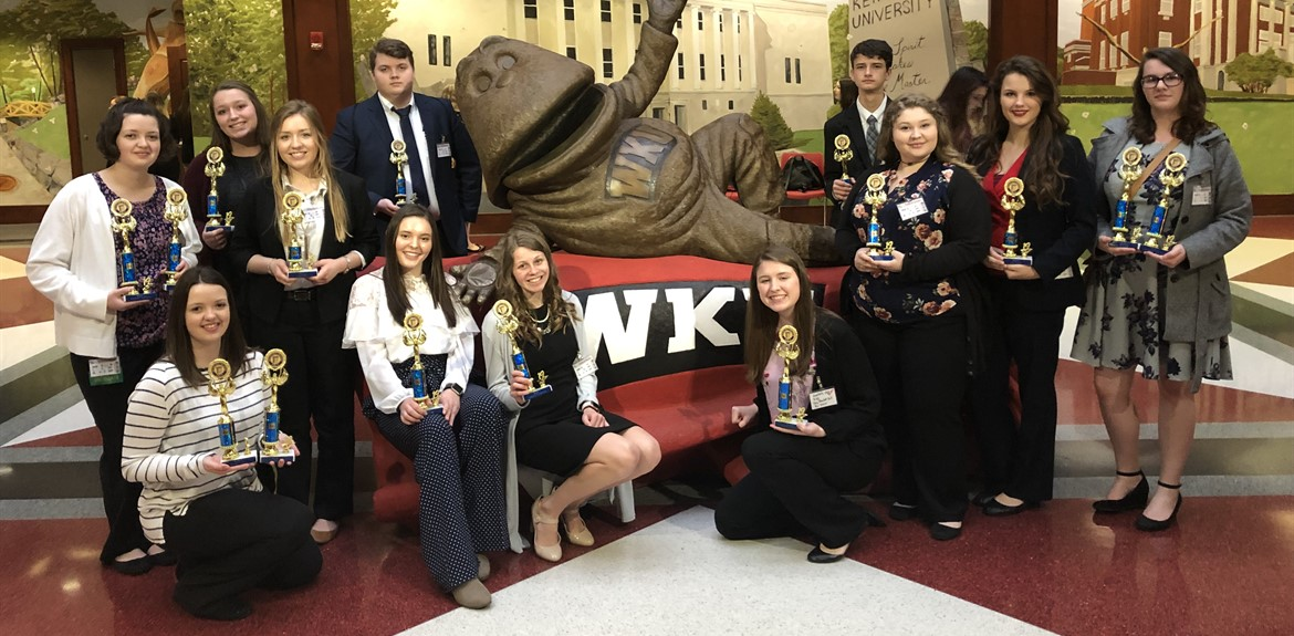 Wayne County FBLA brought home several trophies from the region conference
