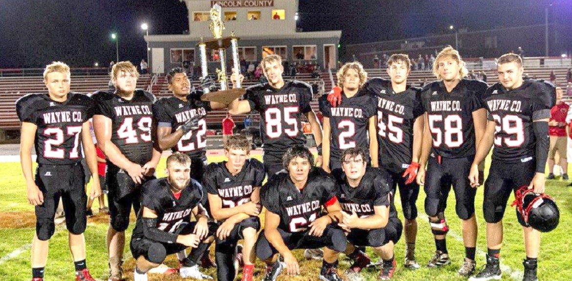 Cardinal Seniors claimed the trophy after defeating Shelby County at Death Valley Bowl, kicking off the season