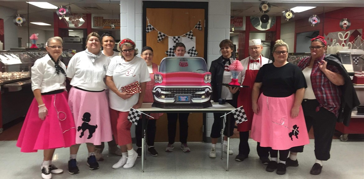 WCHS Nutrition Staff launch National School Lunch week contest