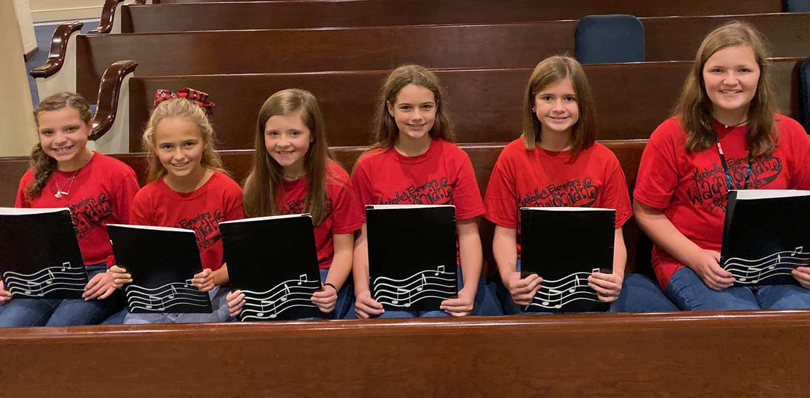 Sixth graders participated in SKMA All-Festival Children's and Junior High Honor Choruses
