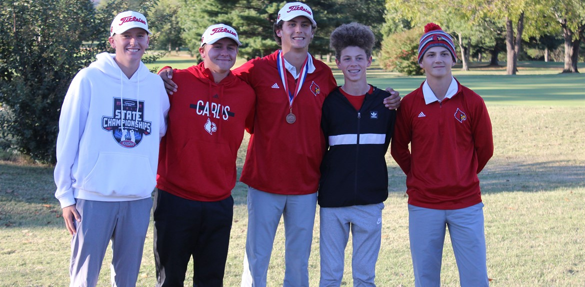 Golf Team does very well at State