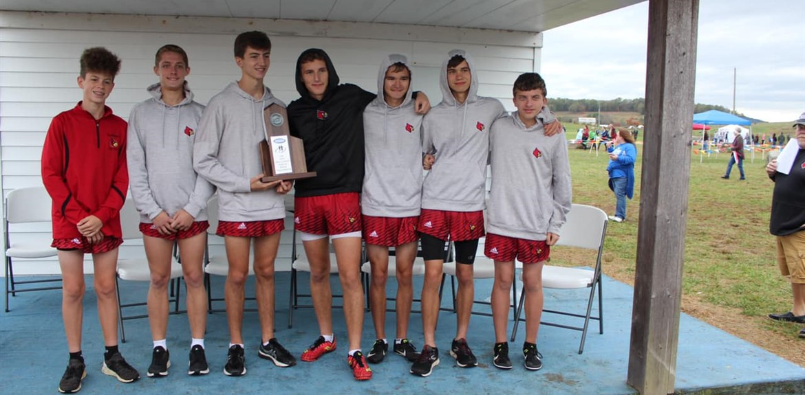 Congrats to Cross Country Team Regional Runner Up's