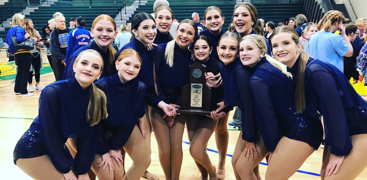 WCHS Dance Team making history at KHSAA Region Jazz Runner Up and moving on to KHSAA State Level Competition!