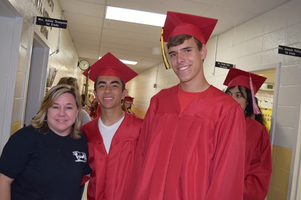 Ms. Jan Lewis with Corbin Kirksey and Alex McFarland