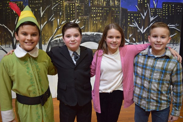 Elf JR Musical at Monticello Elementary December 20th, 2018