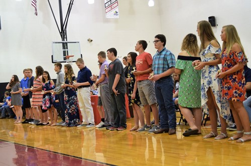 academic excellence recipients