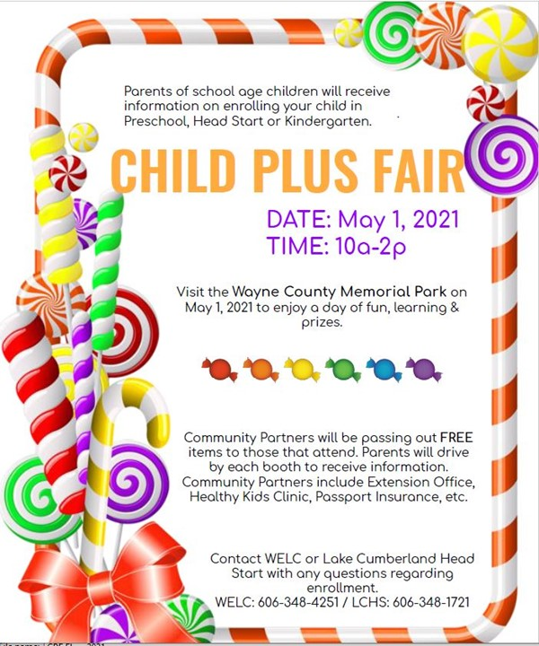 Child Plus Fair Flyer