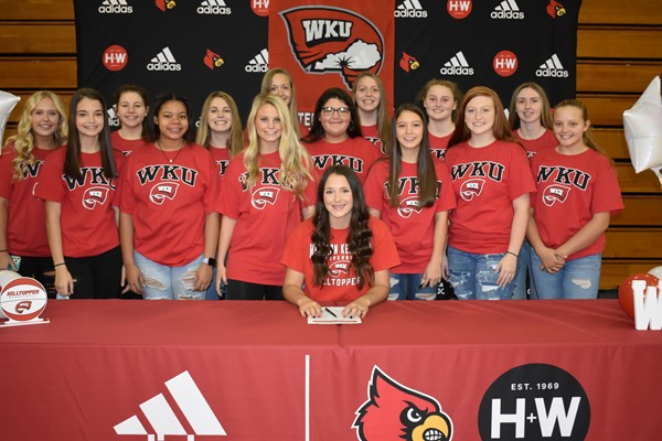 Macey and the Lady Cardinals