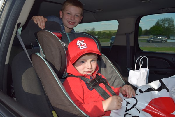 Bell Elementary student Levi Taylor and his little brother Marcus