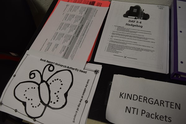 Walker Early Learning Center NTI Packets