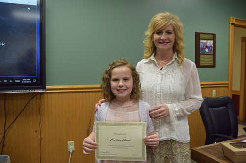 elementary school winner and donna blevins