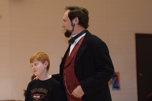 boy and lincoln