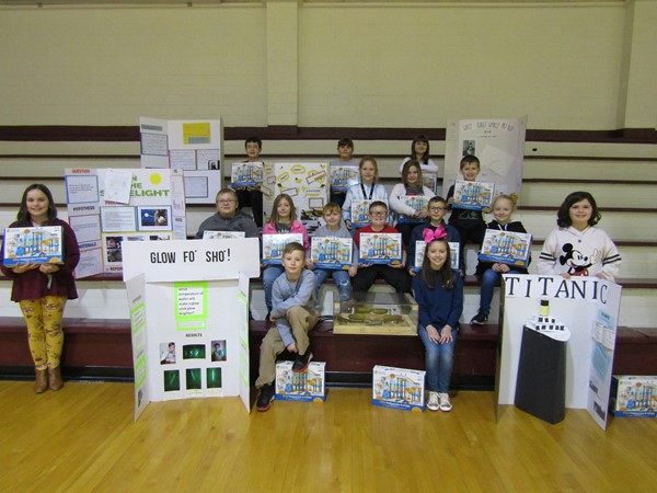 4th Grade Science Fair winners