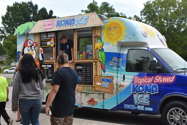 Kona Ice Truck popular at WCMS
