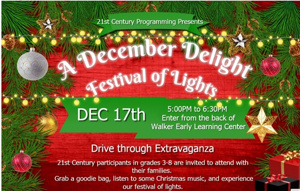 Festival of Lights flyer