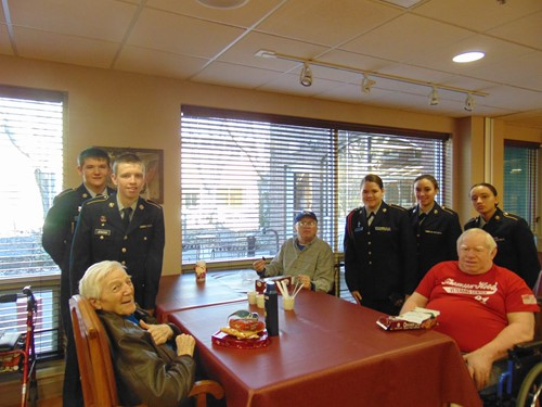 cadets and residents