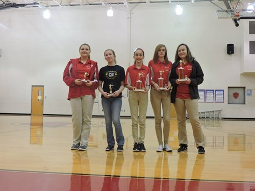 Middle School Individual Awards