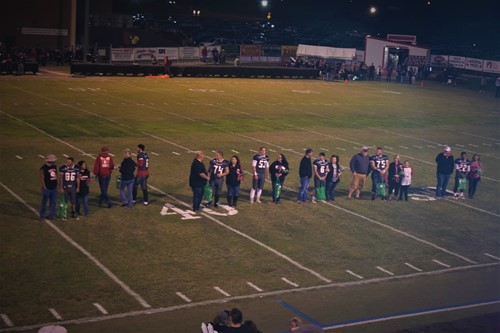 Seniors being honored