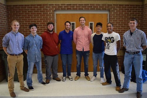 Homecoming Male Candidates
