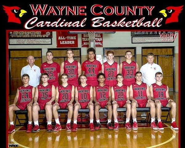 Boys Basketball Team 2017-2018