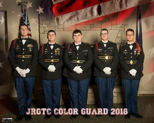 JROTC Color Guard 2018
