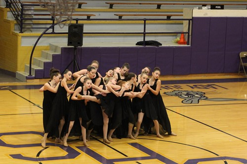 Middle School Jazz Routine