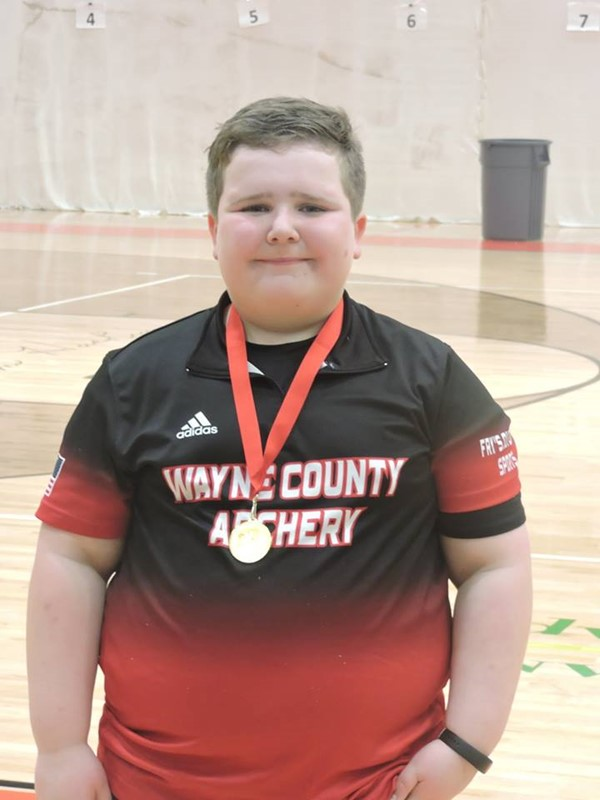 Brody Shelton-2nd place Individual Elementary Male (not pictured Jonathan Branscum-tied for 3rd and Ethan Owens and Aaron Hathaway tied for