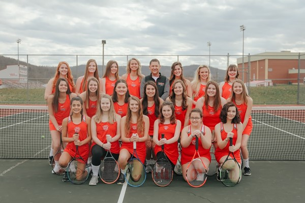 girl's tennis team