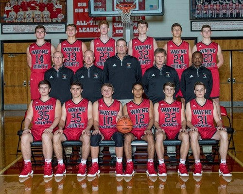 2019 Boys Basketball Varsity Team