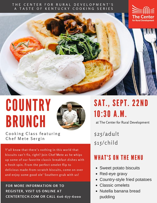 Country Brunch Flyer