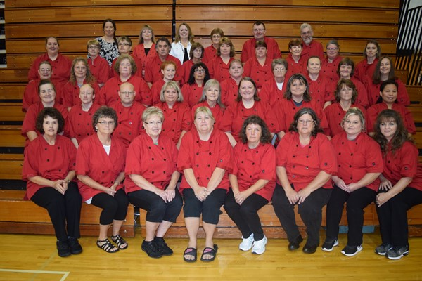 Food Service Staff from each school