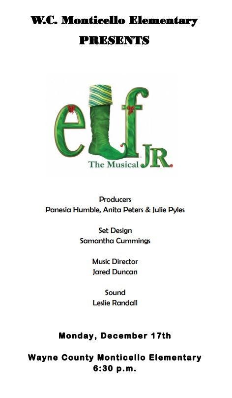 Elf Jr. Brochure