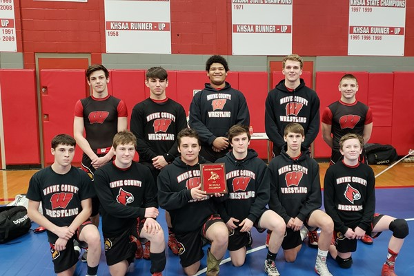 Wrestling Team Photo