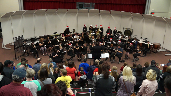 WC Bands annual Holiday Concert