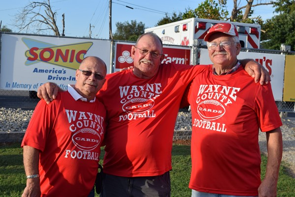 WCHS Football players from 1969 team