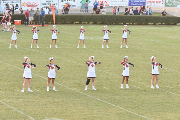 WCHS cheerleaders