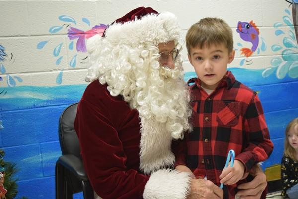 Santa and August Perkins