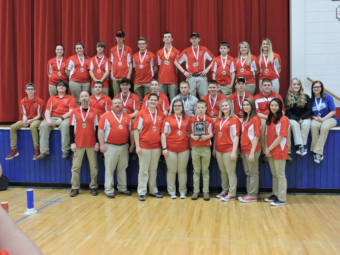 WCHS Archery Team places third