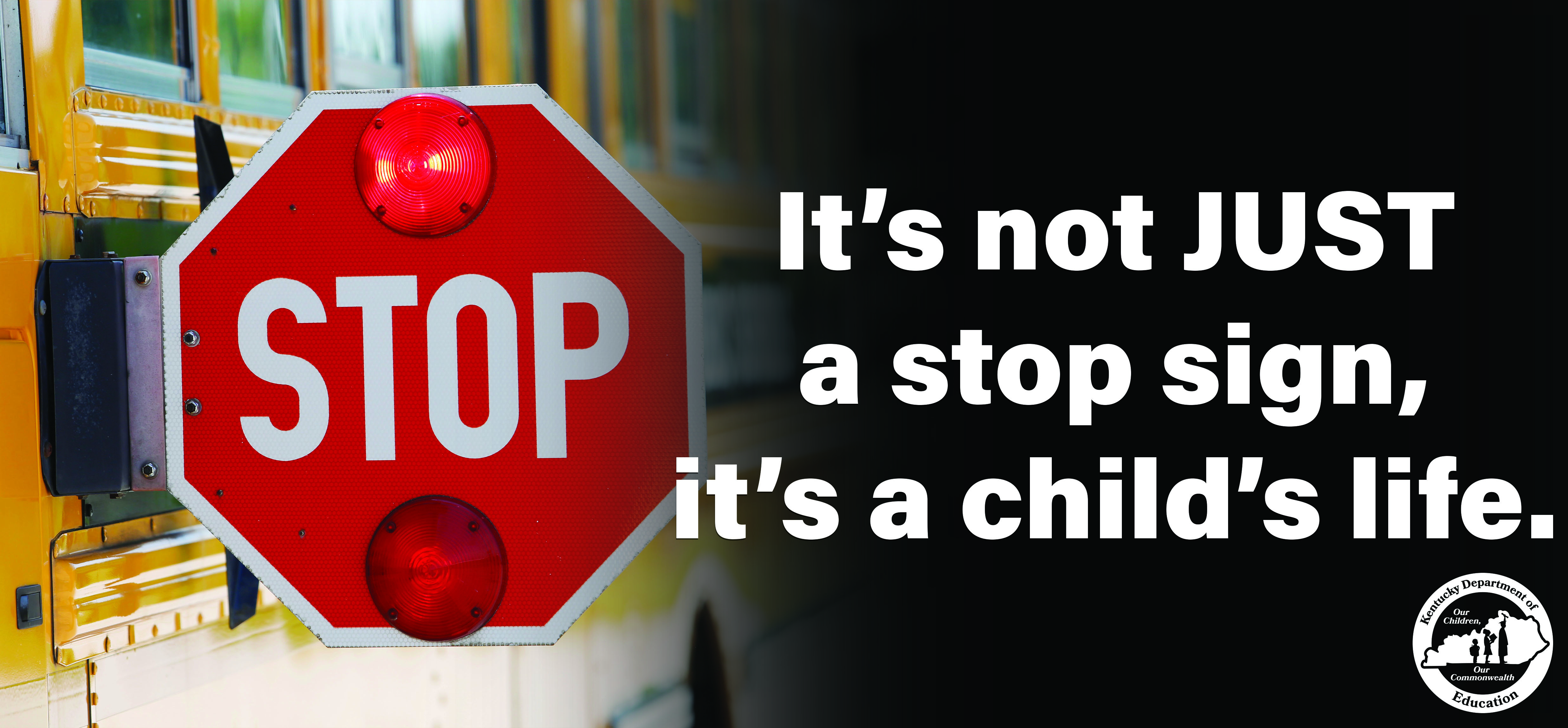 Stop sign billboard