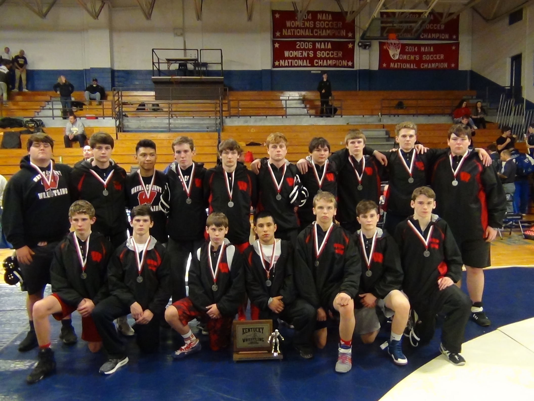WCHS Wrestling Team named Runner-Up