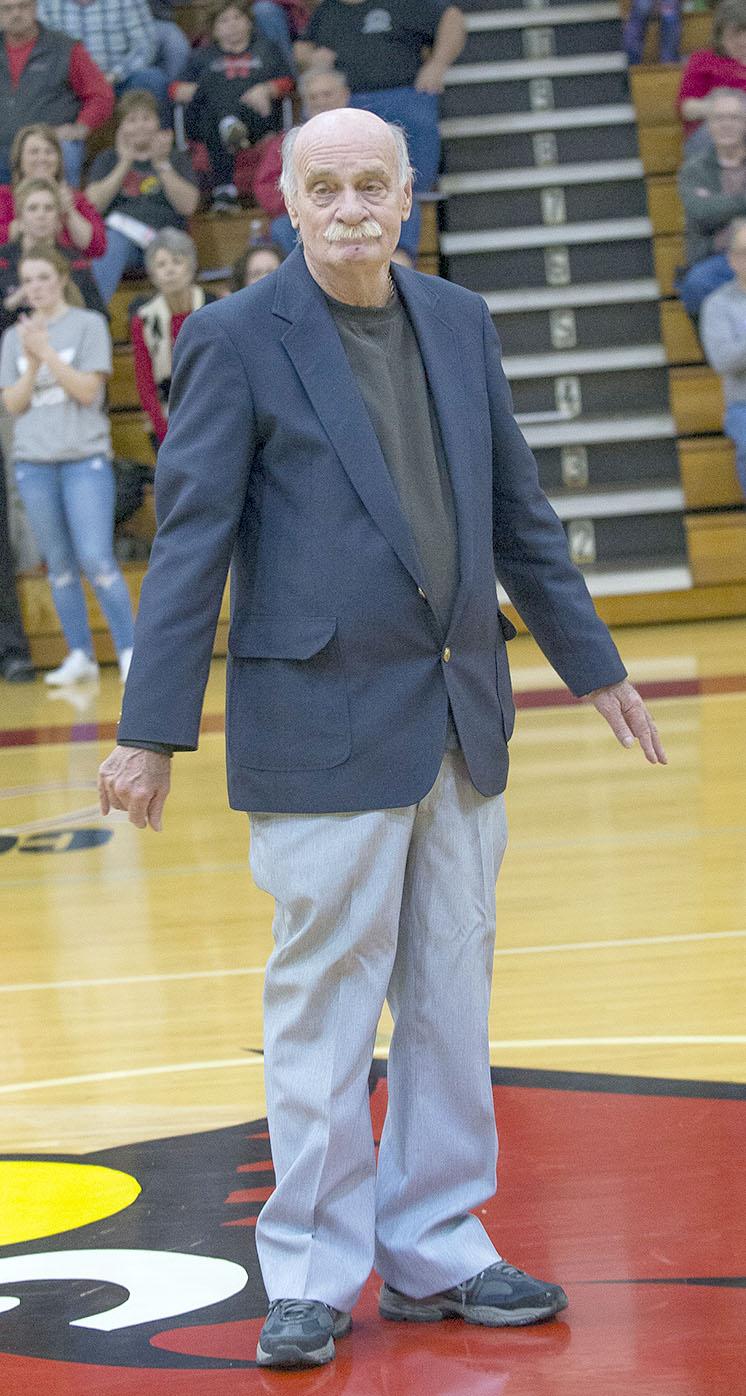 Monticello High School legend Fred Frye recognized at Monticello Night against Casey County
