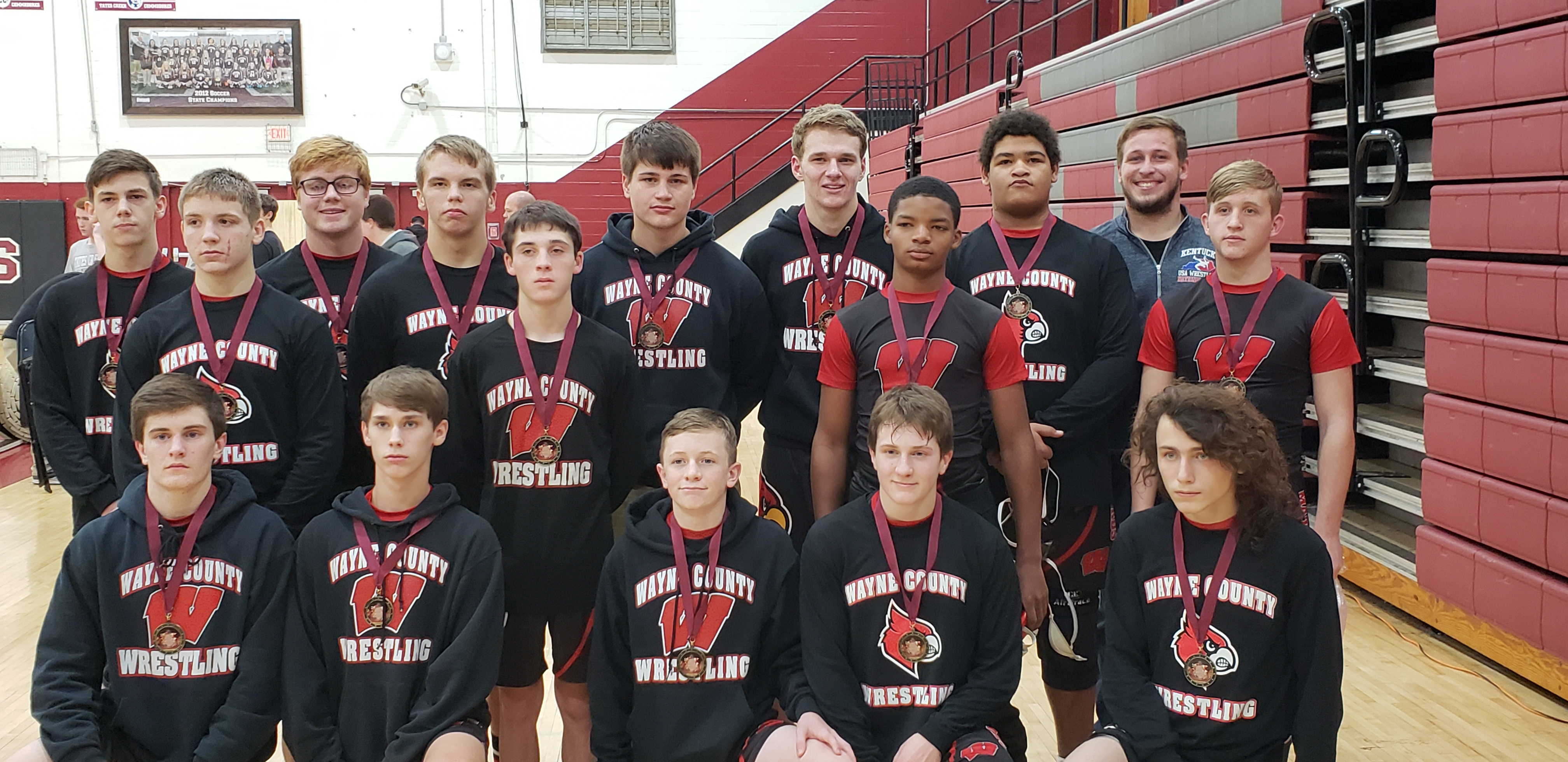 Mat Cards won the Lexington Tournament