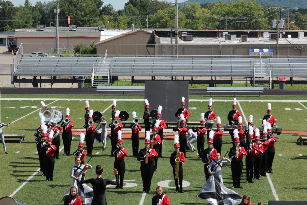 Wayne County Marching Cards