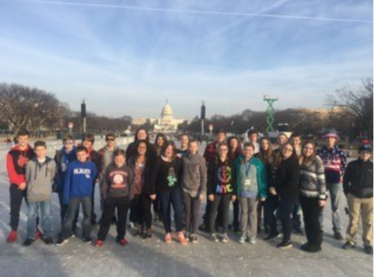 Group in Washington DC