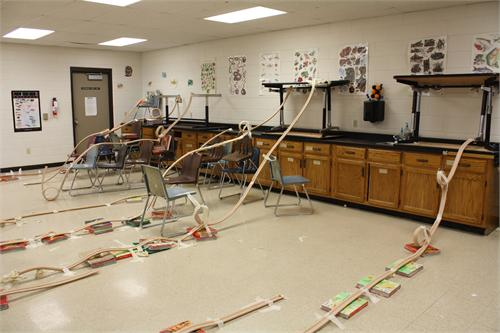 Turner Students Enjoy Building Roller Coasters And Going Bowling To