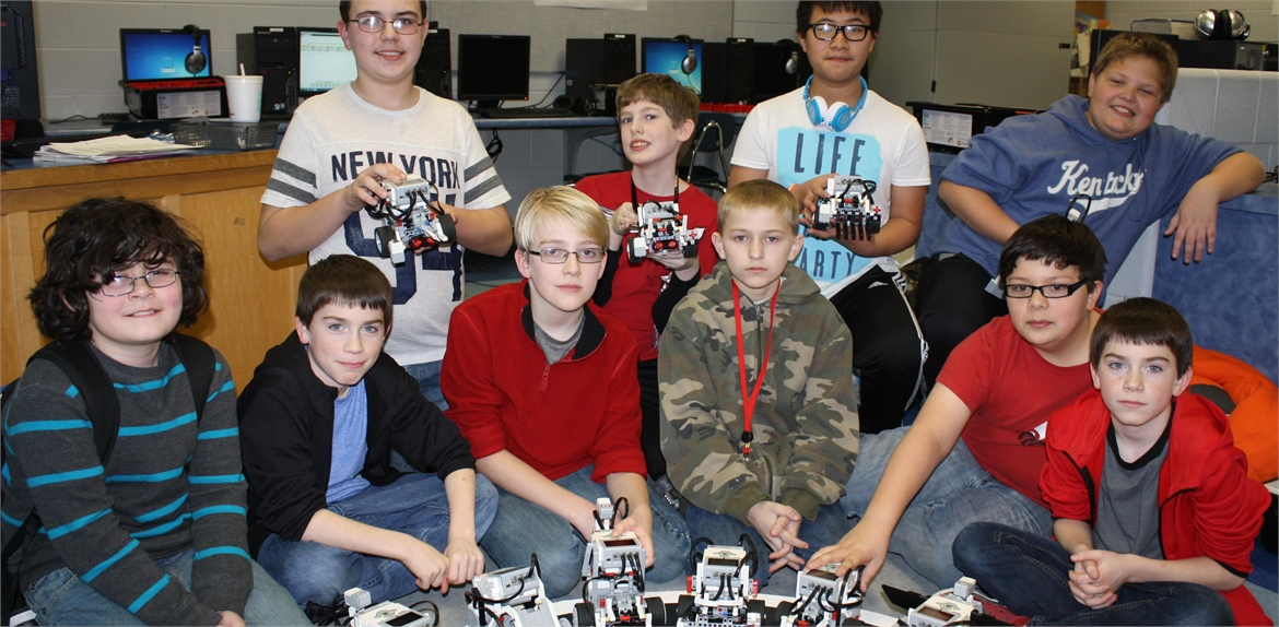 The RoboBoys afterschool robotics class