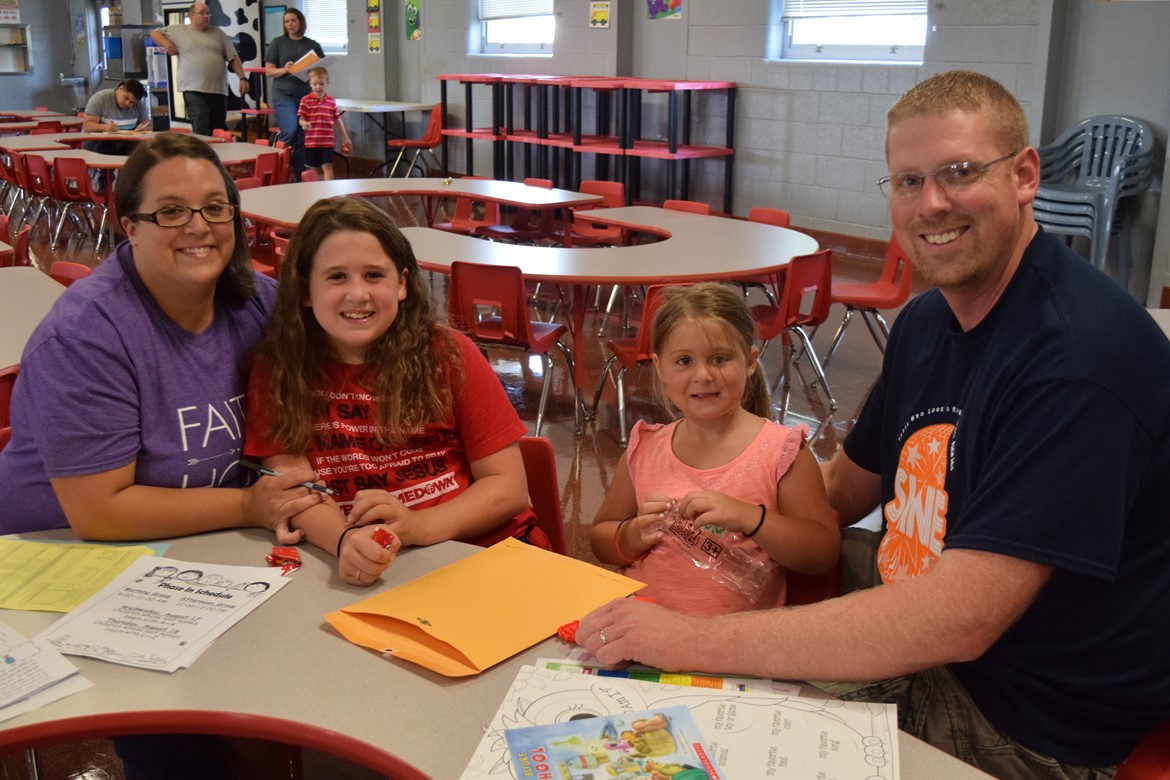 Families enjoyed orientation event at Walker Early Learning Center