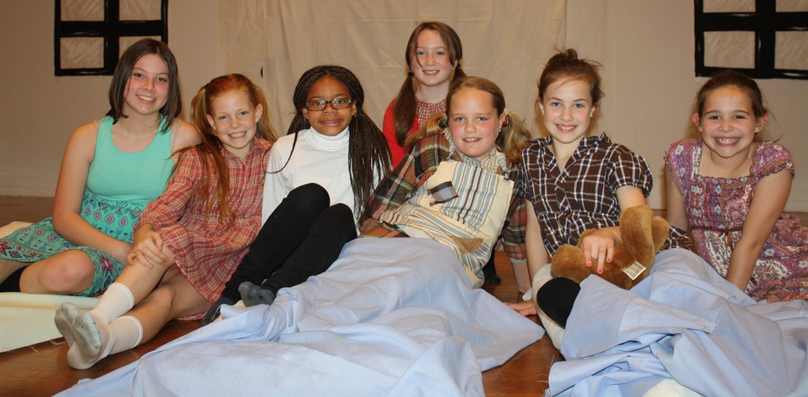 Monticello Elementary students perform a version of the musical Annie
